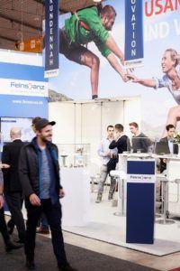 Fairplay - Konzept.Raum.Design - Feinstanz auf der Blechexpo in Stuttgart