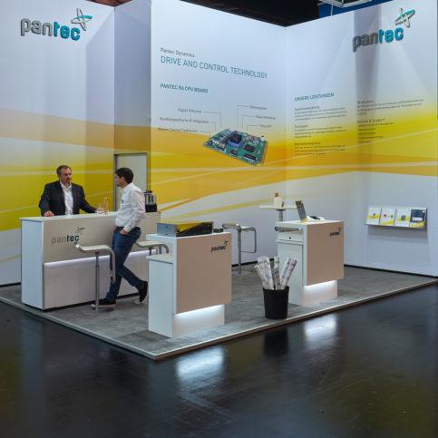 Fairplay - Konzept.Raum.Design - Pantec auf der SPS in Nürnberg
