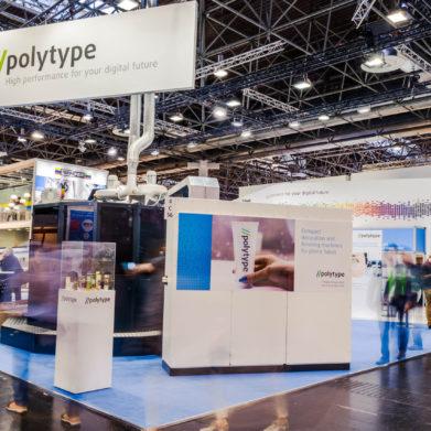 Fairplay - Konzept.Raum.Design - Polytype auf der K Messe in Düsseldorf