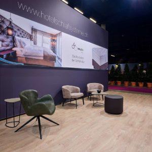 Fairplay - Konzept.Raum.Design - Schlafconcept auf der IGEHO in Basel